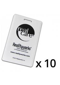 RealCare-sensorsett til babysimulatorens bilstol (10 stk.)-20